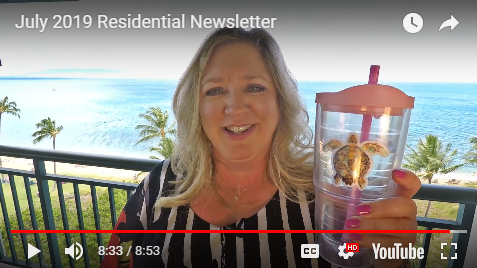 Residential Newsletter - July 2019
