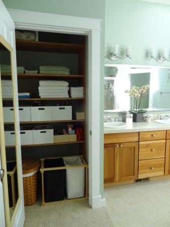 Master Bath with Linen Closet Compressed