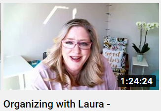 Organizing with Laura - The Replay